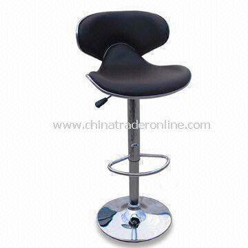 Bar Stool with PU Seat and 210mm Gas Lift