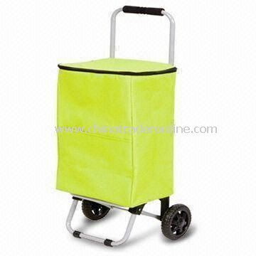 Collapsible Shopping Cart with Steel Pipes and Fabric, Small Orders are Welcome