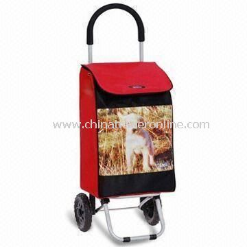 Folding Shopping Cart with Cloth Bag, Customized Sizes are Accepted, ODM Orders are Welcome