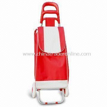 Nylon Shopping Cart with 160mm Wheel Diameter, Eco-friendly, Customized Colors are Accepted