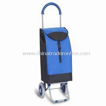 Shopping Cart with Plastic-coated Steel Tube, Measures 93.5 x 38 x 32cm