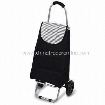 Shopping Cart with Wheels, Available in Various Sizes, Made of 600D Nylon