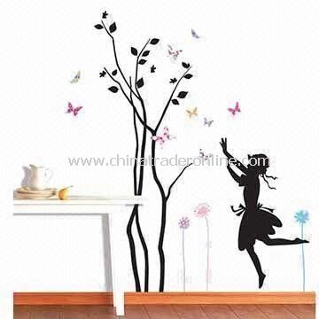 Wall Decal for Home Decoration, Made of PVC Vinyl