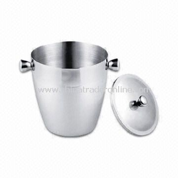 3.8L Ice Bucket, Measuring 18 x 22.5cm