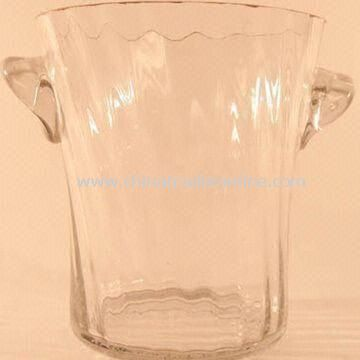 Beer Ice Bucket Tray, Made of Plastic Material, Customized Logo Printing Welcomed from China