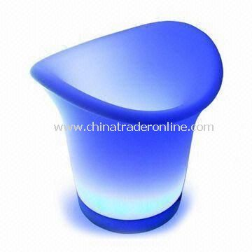 Beer Ice Bucket Tray, Made of Plastic Material, Customized Logo Printings are Welcome from China