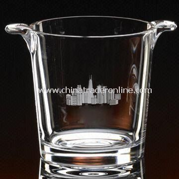 Beer Ice Bucket Tray with 21.5cm Height, Customized Designs and Logos are Welcome