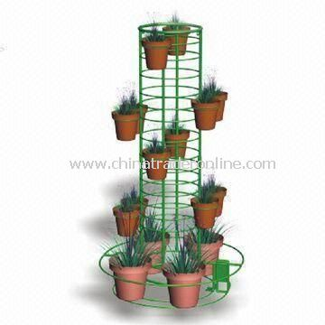Customized Metal-coated Rack Pot Decoration, Protects Tree Surface from Cat Scratches