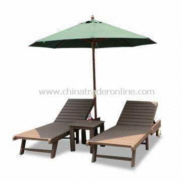 Eco-friendly Outside Bench, Cosy, Comfortable, Anti-UV, Seldom Rift, Different Colors are Available