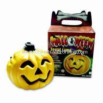 Hallowmas Car Pumpkin Light with Spirit Cries, Measuring 71.00 x 53.00 x 88.00cm