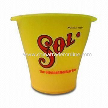 Ice Bucket, Made of PS Material, Suitable for Promotional Gifts
