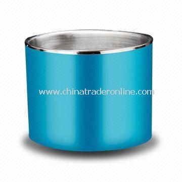 Ice Bucket, Made of Stainless Steel with 2,700ml Capacity