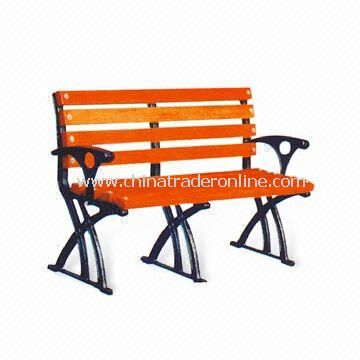 Leisure Chair/Park Bench, Measures 120 x 65 x 76cm, Various Colors are Available