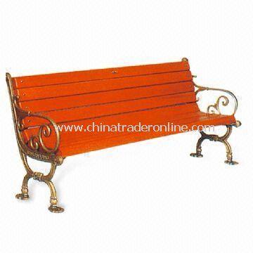 Leisure Chair/Park Bench, Measures 120 x 65 x 76cm/suitable for garden and park