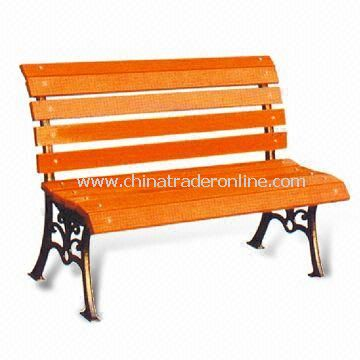 Leisure Chair/Park Bench, Various Colors are Available, Measures 120 x 45 x 60cm