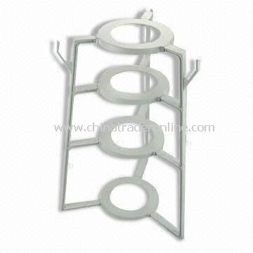 Plastic Kitchen Pot Rack, Made of ABS, Convenient for Storage