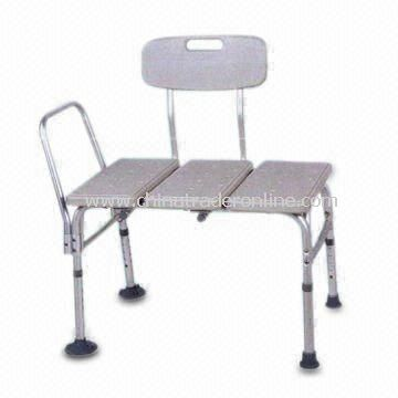 Plastic Seat Transfer Bath Bench, Customized Requirements are Welcome
