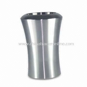 Stainless Steel Ice Bucket with Unique Shapes, Can Print Customers Logo from China