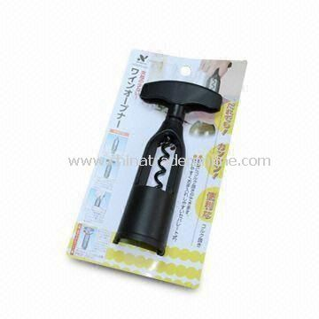 6-piece Wine Tool Kit, Easy to Grip, Made of Zinc from China
