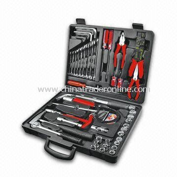 98-piece Tool Set, Includes Hammer, Filter Wrench and Sliding Bar