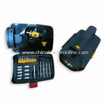 Combination Tool Kits with Light, Sockets and Prolong Bar