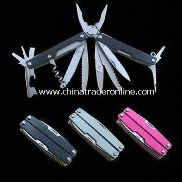 Multifunction Tool with Wine Corkscrew, Scissors, Can Opener and File from China