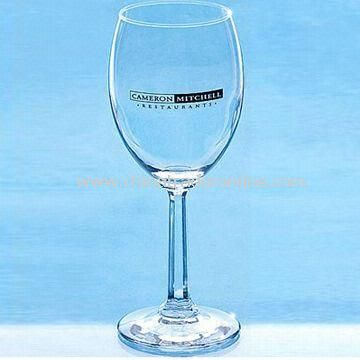 Promotional White Wine Glass, Suitable for Party Guests