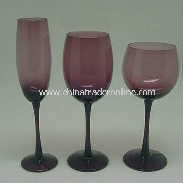 Purple Wine Glass, Ideal for Tableware