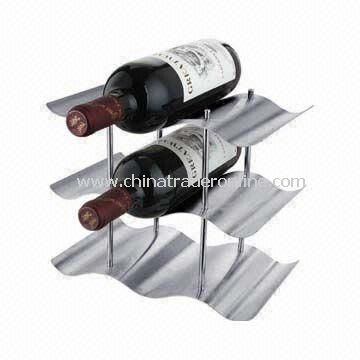 Red Wine Rack Made of Stainless Steel