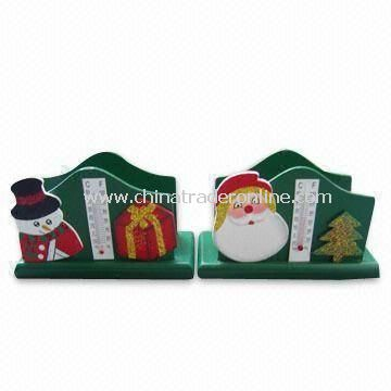 Wooden Tissue Holders, Christmas Theme, Customized Designs are Accepted