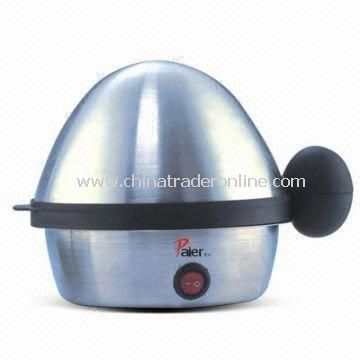 Egg Boiler with 350W Power and Stainless Steel Heating Plate