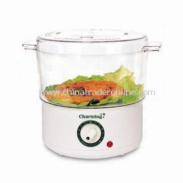 Food Steamer, with Timer up to 60min