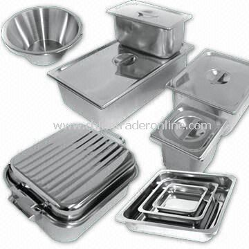 Variety of Stainless Steel Products For Catering