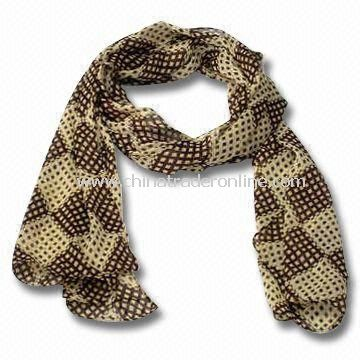 Charm/Scarf/Shawl, Made of Chemical Fiber, OEM and ODM Orders are Welcome, Suitable for Ladies