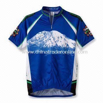 Cycling Jersey, Cycling Shirts with Sublimation Print and High Technology Workmanship