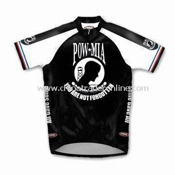 Cycling Jersey/Cycling Shirt with Sublimation Print and High Technology Workmanship
