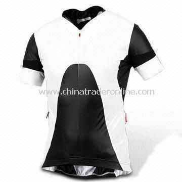 Cycling Jersey/Sports Wear, Made of 100% Polyester, Customized Sizes and Colors are Welcome