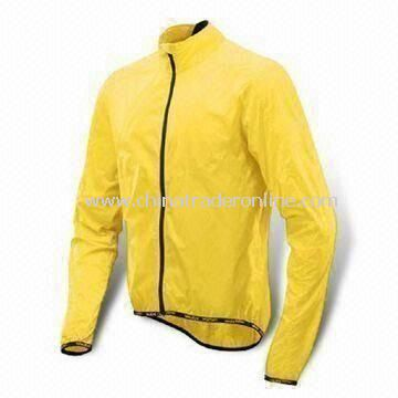 Cycling Jersey with 100% Polyester Padding, Customized Size Chart are Accepted