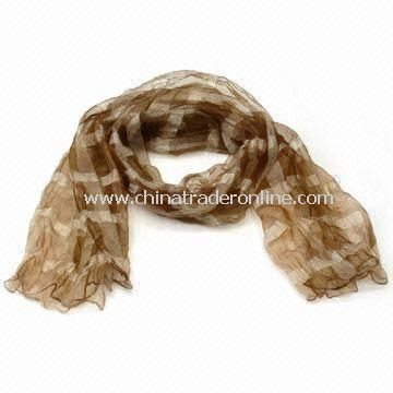 Fashionable/Charm/Scarf/Shawl for Ladies, Made of Polyester, Customized Orders are Accepted