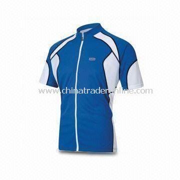 High-quality Cycling Jersey with High-technology Workmanship, OEM Orders are Welcome
