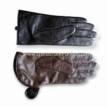 Ladies Sheep Leather Gloves, OEM Orders are Welcome