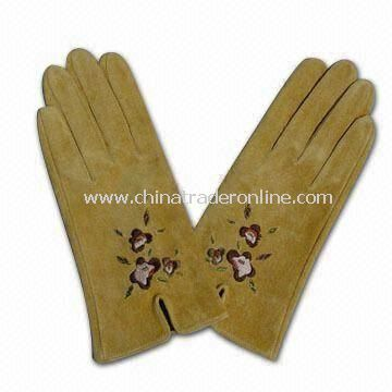 Womens and Mens Goat Leather Gloves, Different Specifications are Available