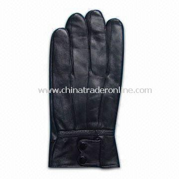 Womens and Mens Leather Gloves, Available in Various Specifications from China