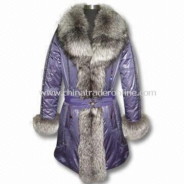 Fur and Leather Jacket, Various Styles are Available, Suitable for Women from China