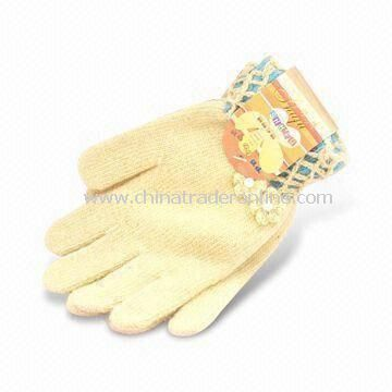 Knitted Gloves, Made of 100% Wool, ODM Orders are Welcome, Designs Can be Printed