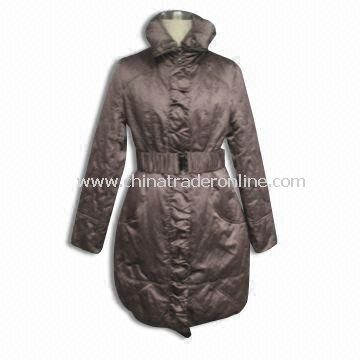 Womens Padded Coat, Made of 100% Polyester