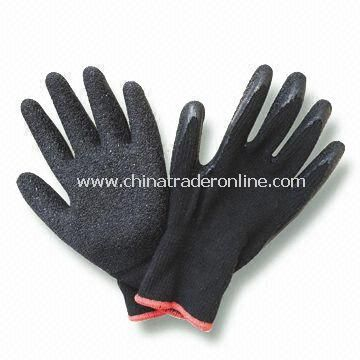 10 Gauge Knitted Latex Gloves, Available in Size of 10-inch