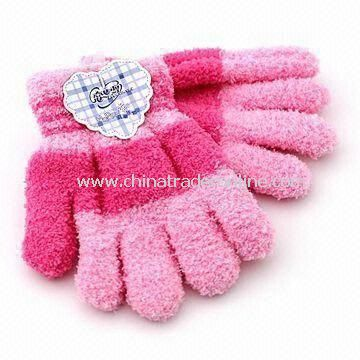 Childrens Gloves, Made of 100% Cotton, Available in Customized Design