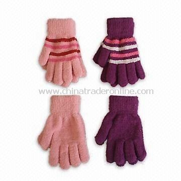 Cozy Yarn Magic Glove, Made of 95% Polyester and 5% Spandex