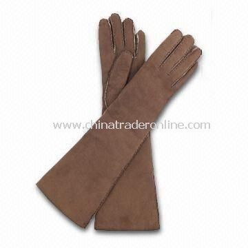 Ladies Gloves with or without Cotton Lining, Made of Real/PU Leather, Various Sizes are Available